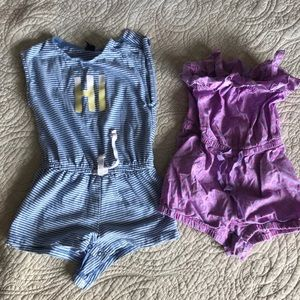 Gap Rompers size 18M